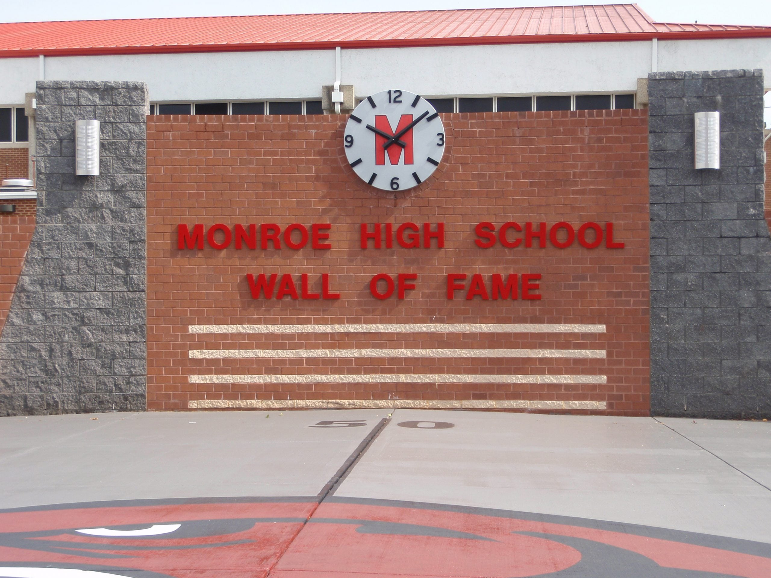 Monroe High School Hinson Electric Inc. Monroe NC